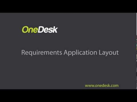requirements application layout