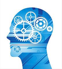 gears inside head