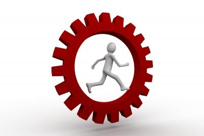 running in a gear