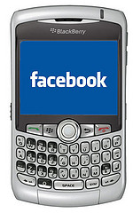 facebook on black berry
