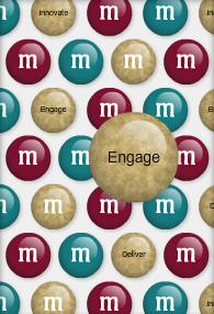 engage m&ms