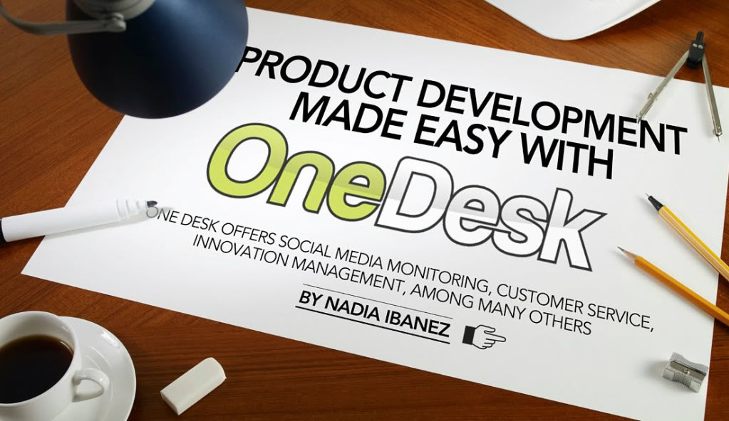 product development made easy with onedesk