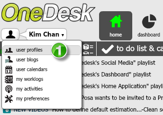 onedesk interface