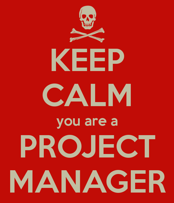 keep calm project manager
