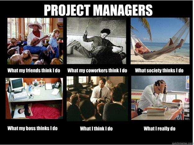 what project managers really do