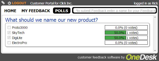 user portals