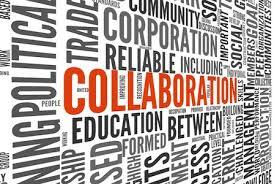 collaboration word art