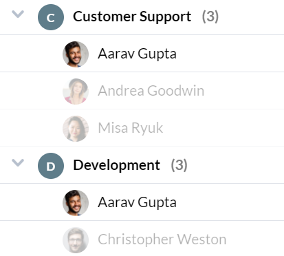 Organize Your Users For Easy Assigning
