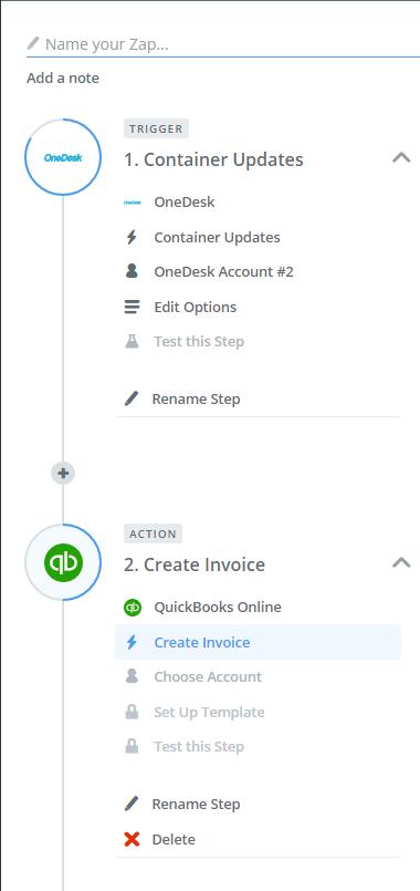 project management invoice
