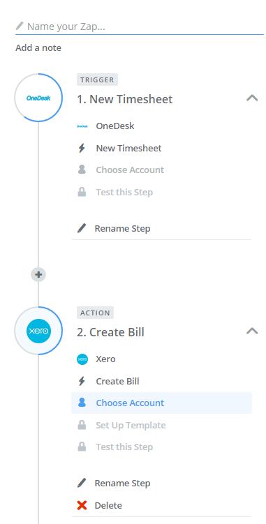 Set up Xero project management