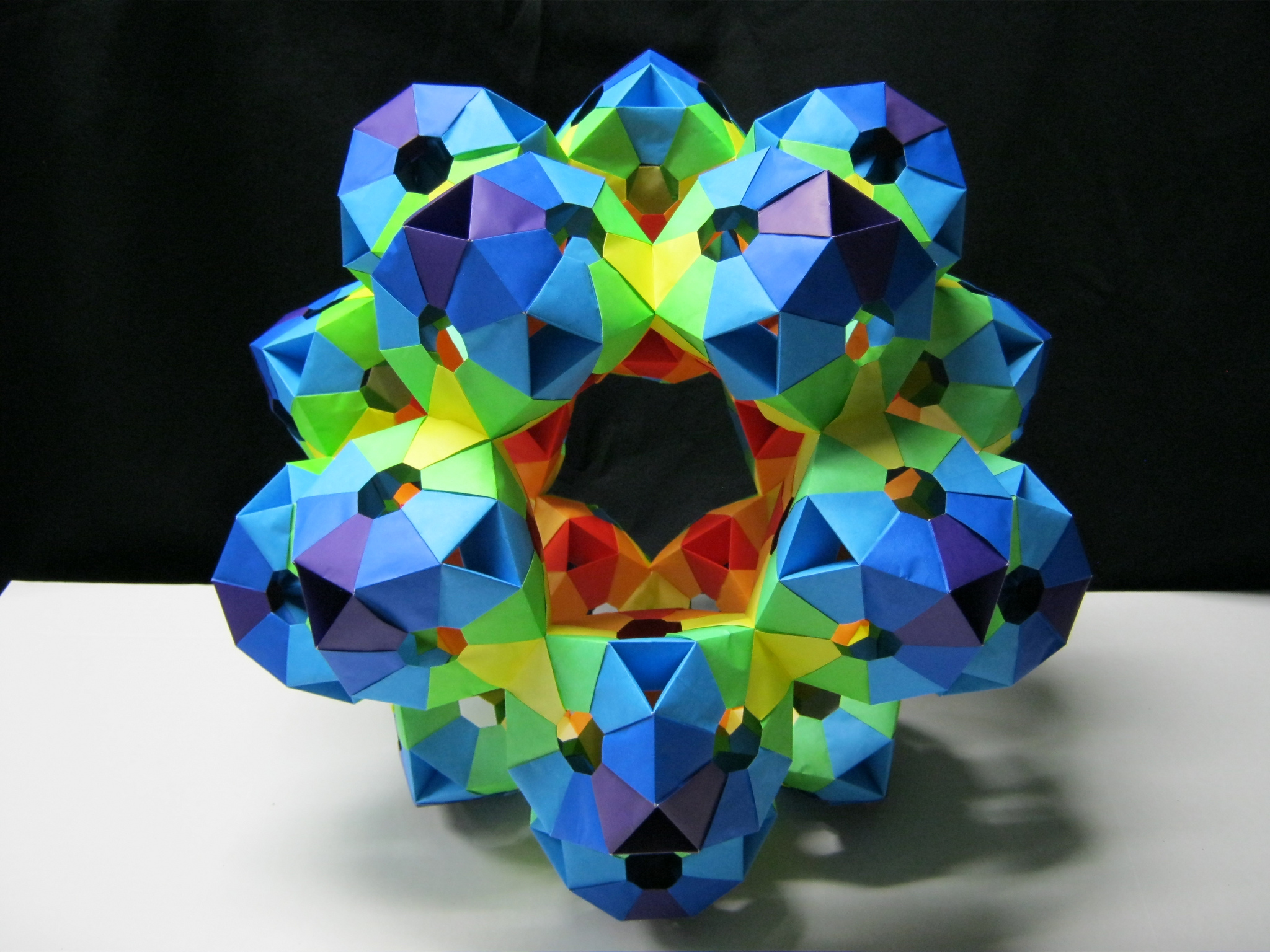 paper origami ball
