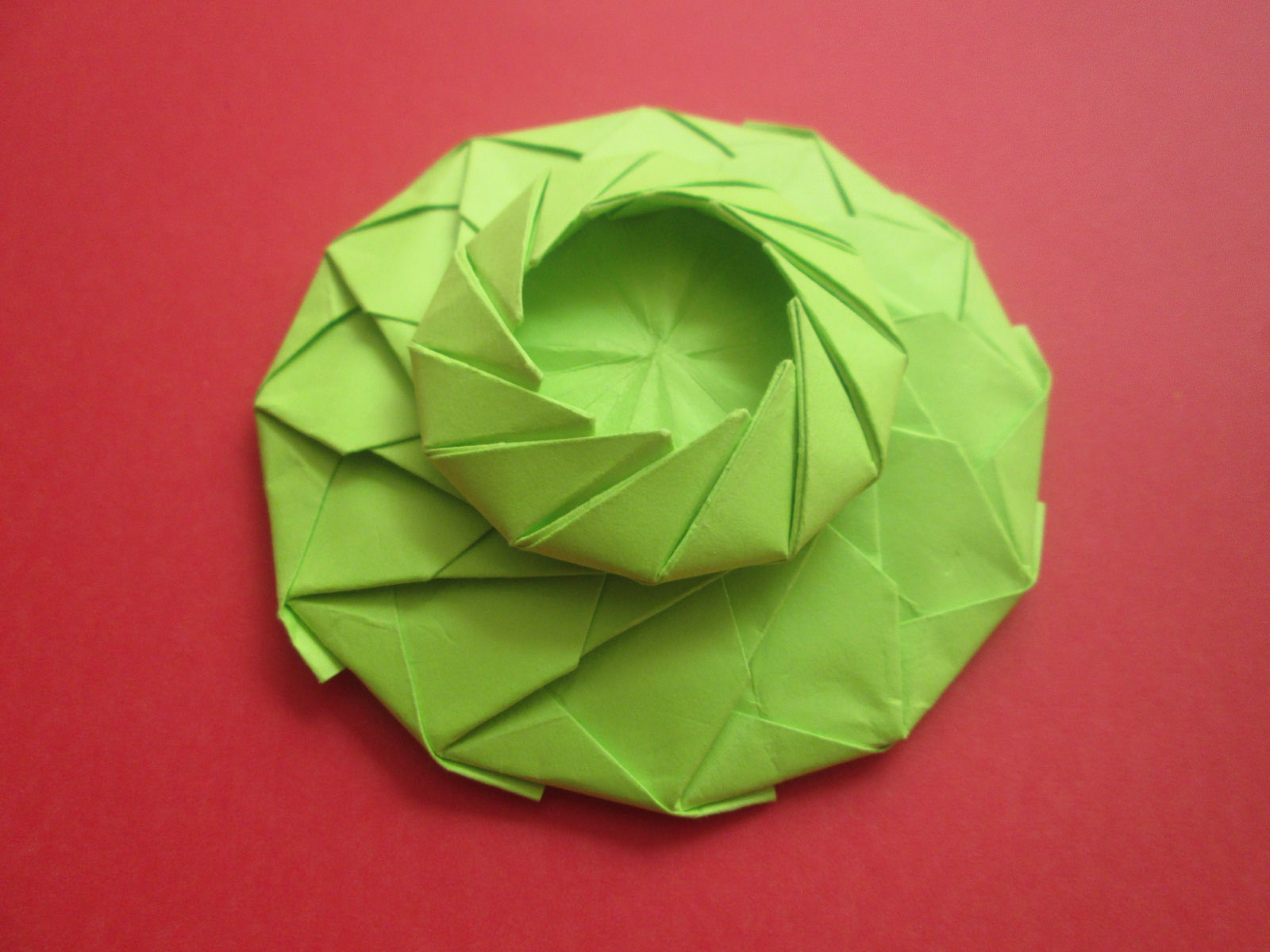 paper folded art