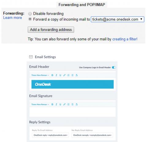 Helpdesk Email Integration software