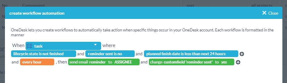 reminder-automation