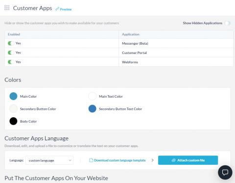 configure-customer-apps