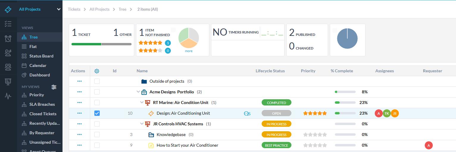 Service Request Management Software
