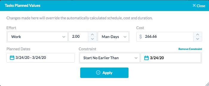 Factors Affecting Schedule Calculations