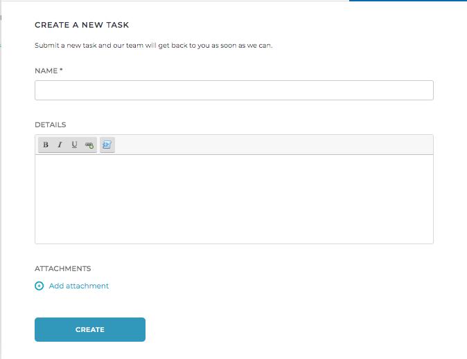 Webforms App in Helpdesk Portal