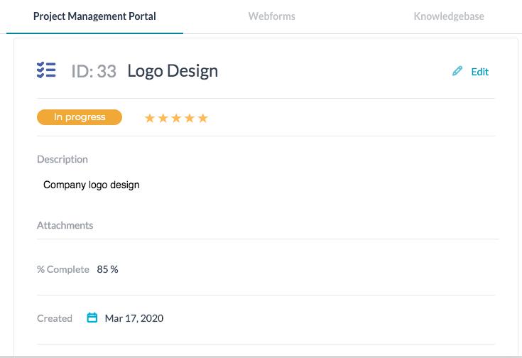 Help Desk Customer Portal