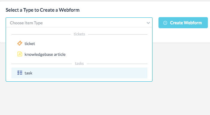 Creating Ticket Forms