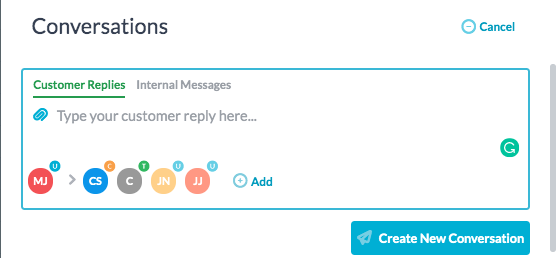 Create Conversations in Tasks