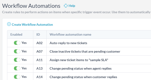 helpdesk automation tools