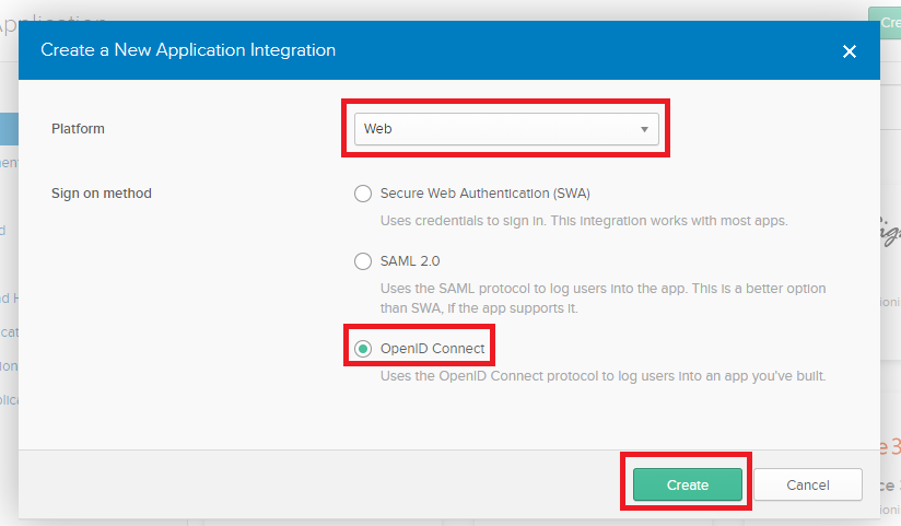 SAML2 and OpenID Connect - okta