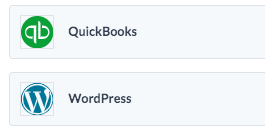 QuickBooks and WordPress