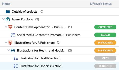 Features: SMB Project Management App