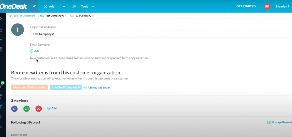 Setting up Multiple Domains for Customer Organizations