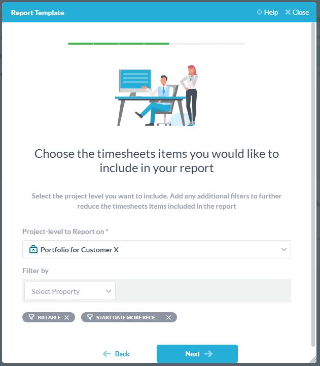filtre pour les rapports