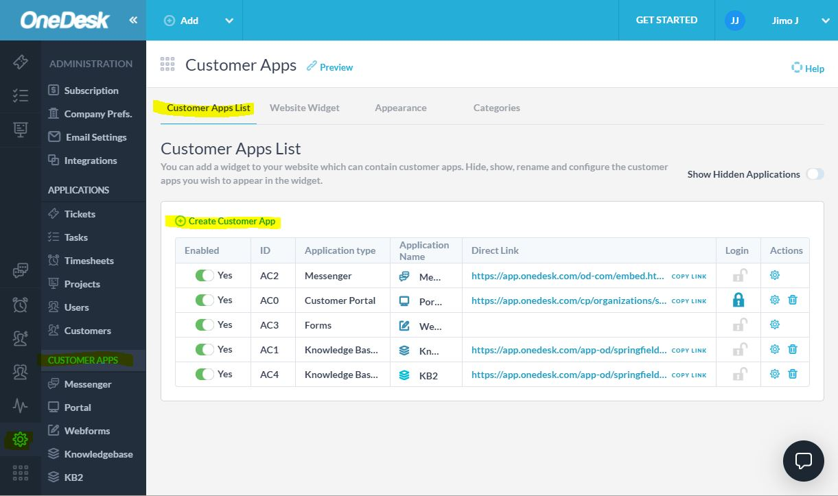 create an app for your customers