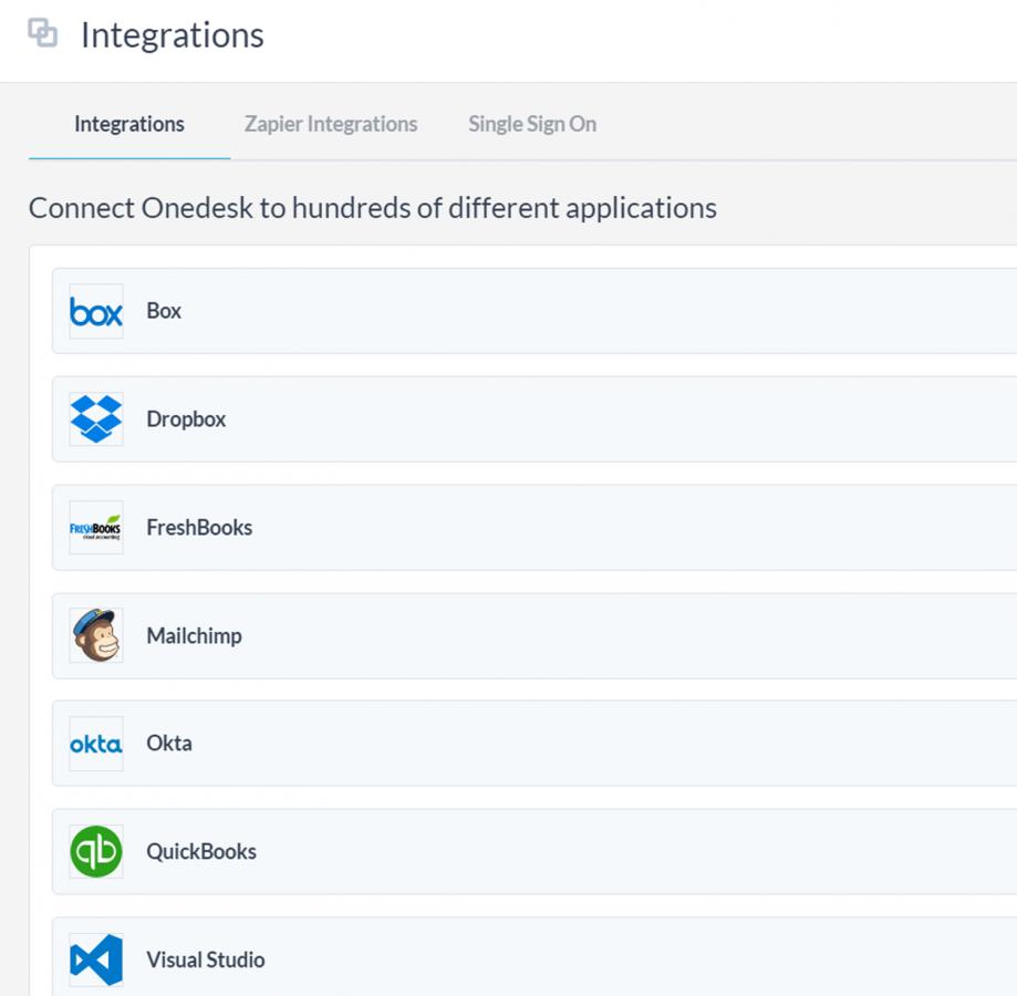 Intégrations, configurations et automatisations