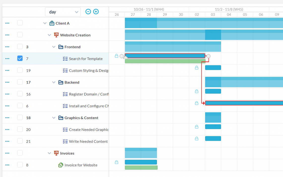 Project Management with Omnichannel Features