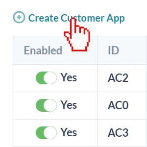 crear aplicación de cliente