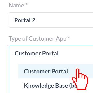 select customer portal