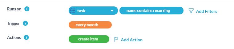automatic task creation