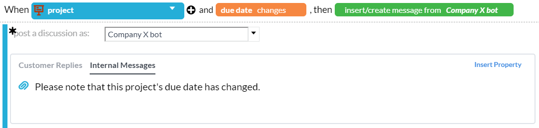 Notify followers of a project when its due date changes