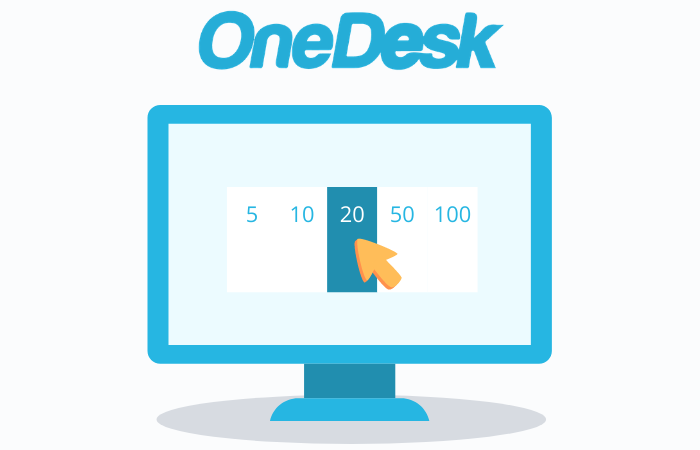 OneDesk Subscription Plans