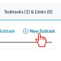 Click New Subtask