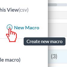 Select New Macro