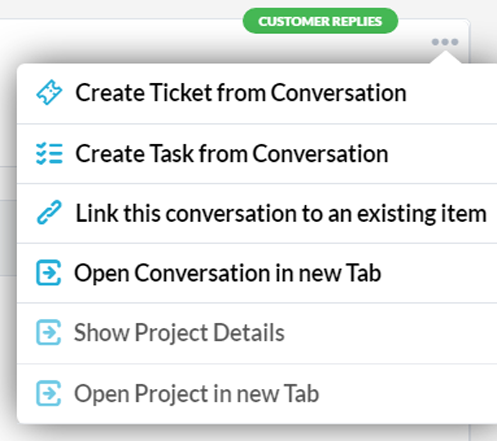 Live Chat Integrated into HelpDesk