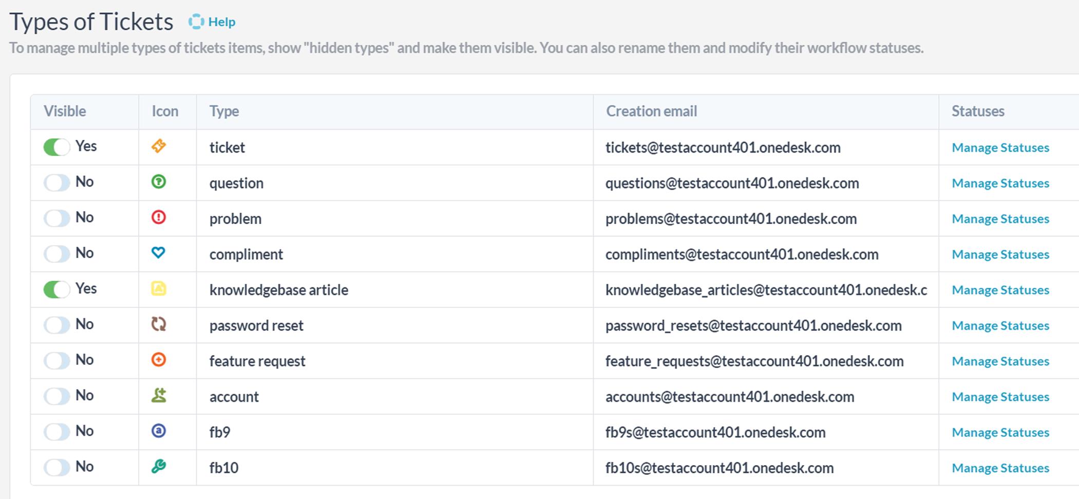 Multiple support emails? No problem!