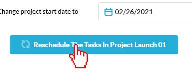 Reschedule the Tasks
