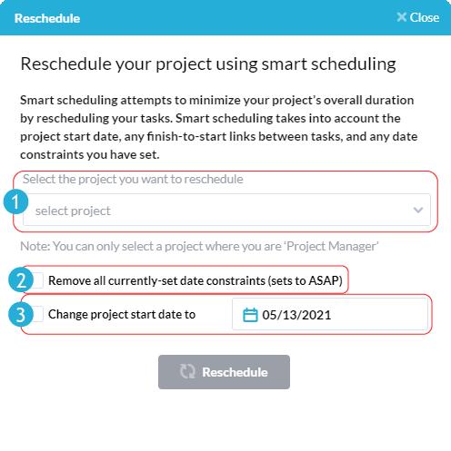smart rescheduling